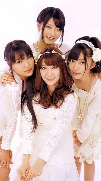 大島優子指原莉乃北原里英横山由依 Not yet AKB48の画像(プリ画像)