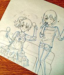 カラオケ女子の画像(プリ画像)