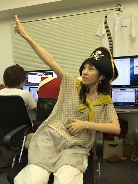 海賊まみるとん。