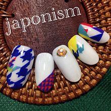 japonismネイルの画像(嵐 ネイルに関連した画像)