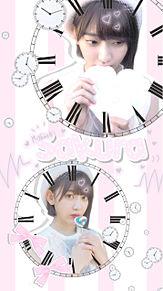 ◎ 夜空さん リクエスト 宮脇咲良 ロック画面 ホーム画面の画像(akb48に関連した画像)