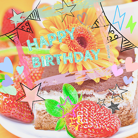 birthdayカードの画像(プリ画像)