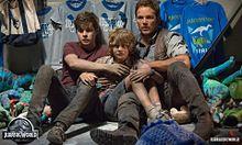 jurassic world Chris Pratt Nick Robinson Ty Simpkinsの画像(Nickに関連した画像)