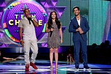 TCA2015 Ludacris Gina Rodriguez Josh Peckの画像(Ginaに関連した画像)