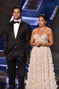 Emmys2015 John Stamos Gina Rodriguezの画像(Ginaに関連した画像)