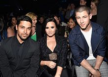 BBMAs2016 Nick Jonas Demi Lovato Wilmer Valderramaの画像(Nickに関連した画像)
