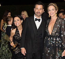 Emmys2016 Julia Louis Dreyfus Jimmy Kimmelの画像(Jimmyに関連した画像)