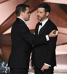 Emmys2016 Matt Damon Jimmy Kimmelの画像(jimmyに関連した画像)