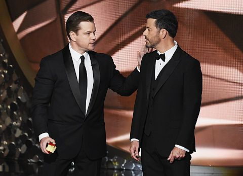 Emmys2016 Matt Damon Jimmy Kimmelの画像 プリ画像