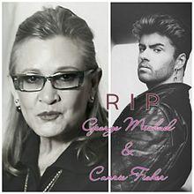 [訃報]George Michael Carrie Fisherの画像(訃報に関連した画像)