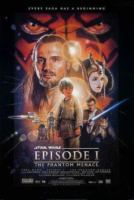 star wars EP1 the phantom menace