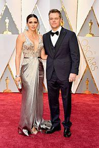 Matt Damon Luciana Barrosoの画像(マットデーモンに関連した画像)