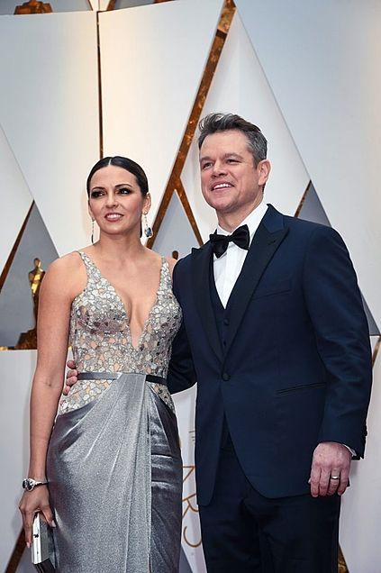 Matt Damon Luciana Barrosoの画像 プリ画像