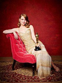 oscars2017 Emma Stoneの画像(エマ・ストーンに関連した画像)