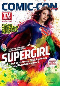 tv guide magazine comic conの画像(supergirlに関連した画像)