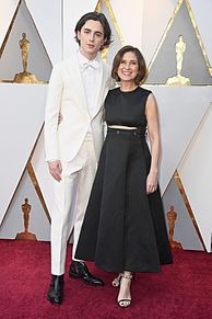 Oscars Timothee Chalamet motherの画像(Motherに関連した画像)