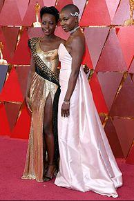Lupita Nyong'o Danai Guriraの画像(アカデミー賞に関連した画像)