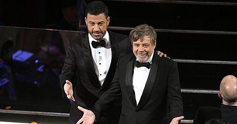 Oscars Jimmy Kimmel Mark Hamillの画像 プリ画像