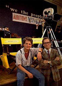 Michael J. Fox Huey Lewisの画像(マイケル・J・フォックスに関連した画像)