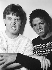 Paul McCartney Michael Jacksonの画像(ポール・マッカートニーに関連した画像)