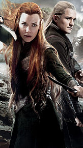the Hobbit Legolas Taurielの画像(オーランドブルームに関連した画像)