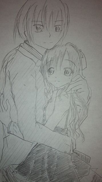 オリジナル 男の子と女の子の画像(プリ画像)