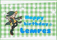 レムレス誕生日!の画像(プリ画像)