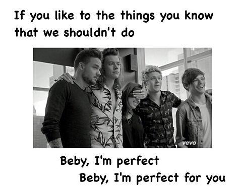 "One Direction ""Perfect""の画像(プリ画像)"