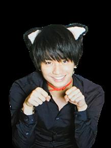猫 中島健人 背景透過 保存いいねの画像(プリ画像)