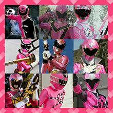 歴代ピンク戦士大集合!の画像(プリ画像)