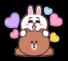 ♡コニー♡ブラウン♡の画像(ハートに関連した画像)