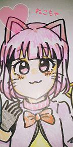 猫耳女の子 プリ画像