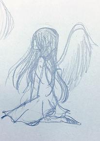 堕天使 プリ画像
