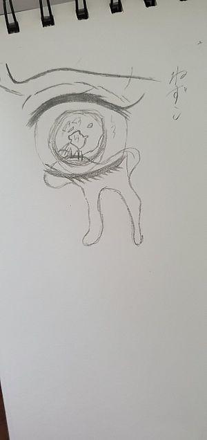 下手ながらも書いてみました……竈門禰豆子の画像(プリ画像)