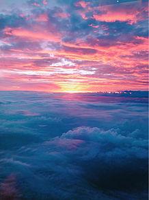 カナやんが撮った夕焼け🌇 プリ画像