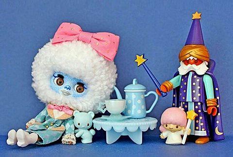 おもちゃのお茶会の画像(プリ画像)