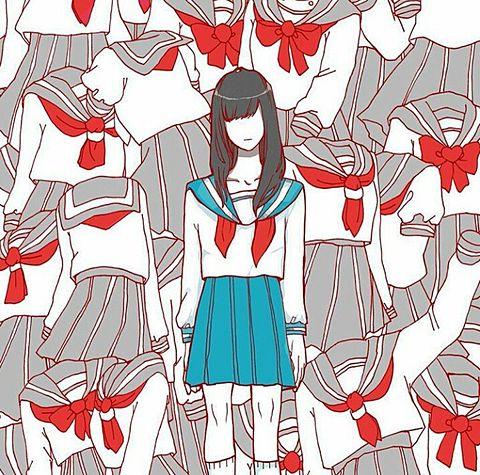 セーラー服の画像(プリ画像)