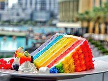 カラフルケーキ プリ画像