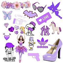 紫♡詰め合わせ プリ画像
