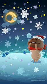 クリスマスの夜の画像(サンタクロースに関連した画像)