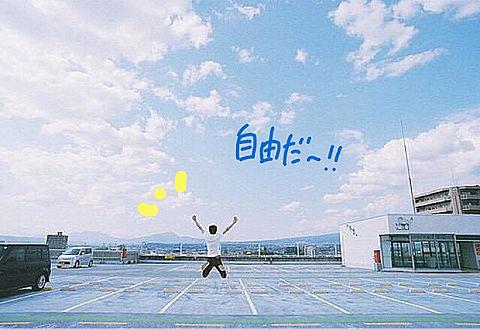 自由だ〜!!の画像(プリ画像)