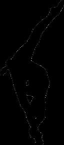 新体操の画像(シルエットに関連した画像)
