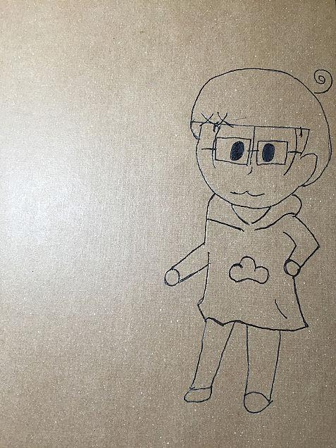 授業中の落書きwの画像(プリ画像)
