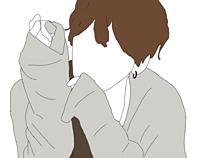 ジャニーズWEST 線画の画像(イラスト 桐山照史に関連した画像)
