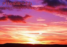 夕日が綺麗ですね プリ画像