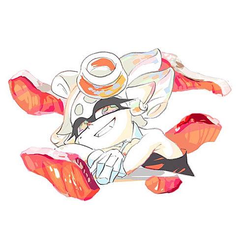 スプラトゥーン 紅しゃけの画像(プリ画像)