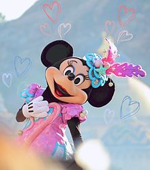 ミニーマウスの画像(ファッショナブルイースターに関連した画像)