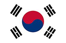 韓国の国旗の画像(プリ画像)