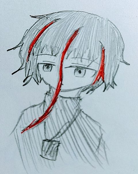 オリキャラクガキ~🎶の画像(プリ画像)
