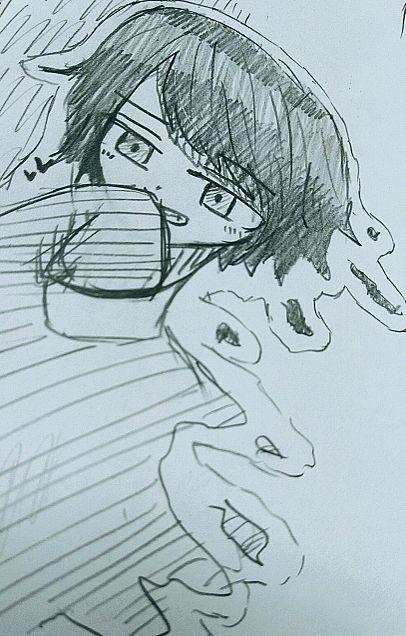 落書き~(^-^*)の画像(プリ画像)